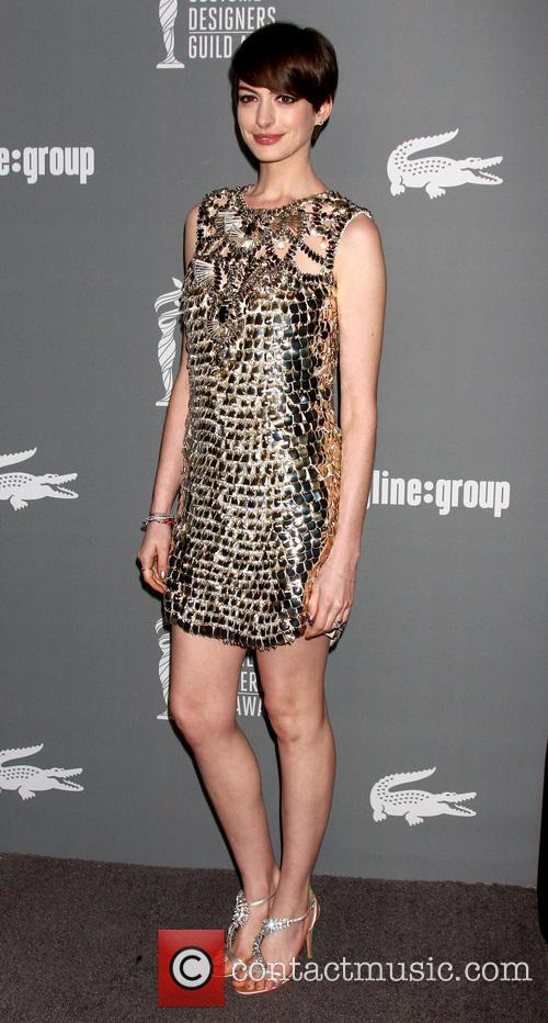anne hathaway 15th annual costume designers guild 3514326