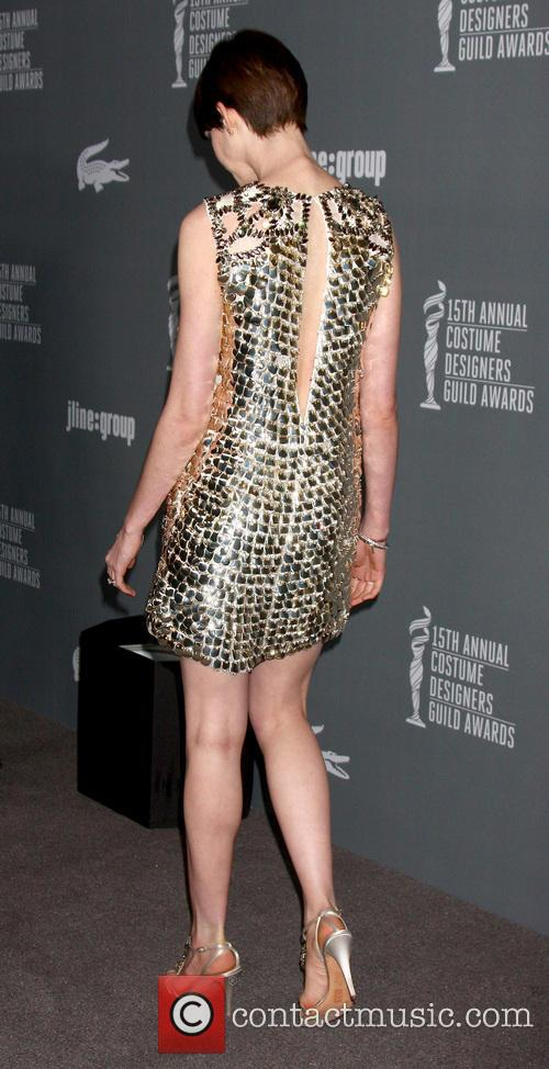 anne hathaway 15th annual costume designers guild 3514344