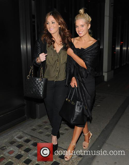 Helen Flanagan At Hakkasan Restaurant