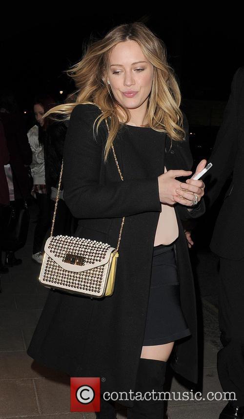 Hilary Duff Out And About In Mayfair