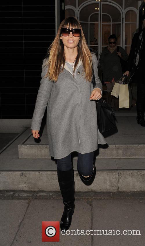 Jessica Biel At The Stella McCartney Boutique