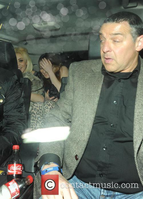 Justin Bieber leaving BLC nightclub