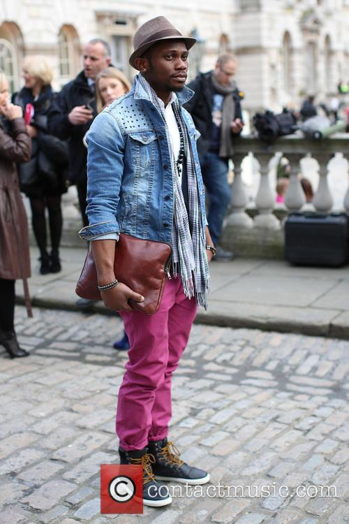 Model, Somerset House, London Fashion Week