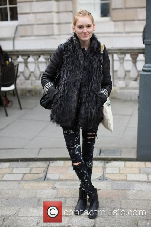 model street style at lfw 3515073