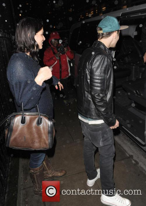 Nathan Skyes seen leaving LBC Night club