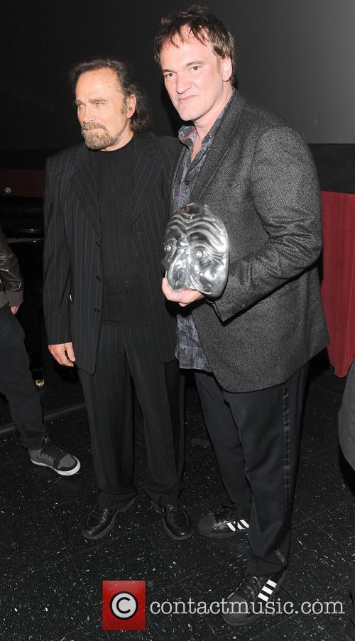 Franco Nero and Quentin Tarantino 2