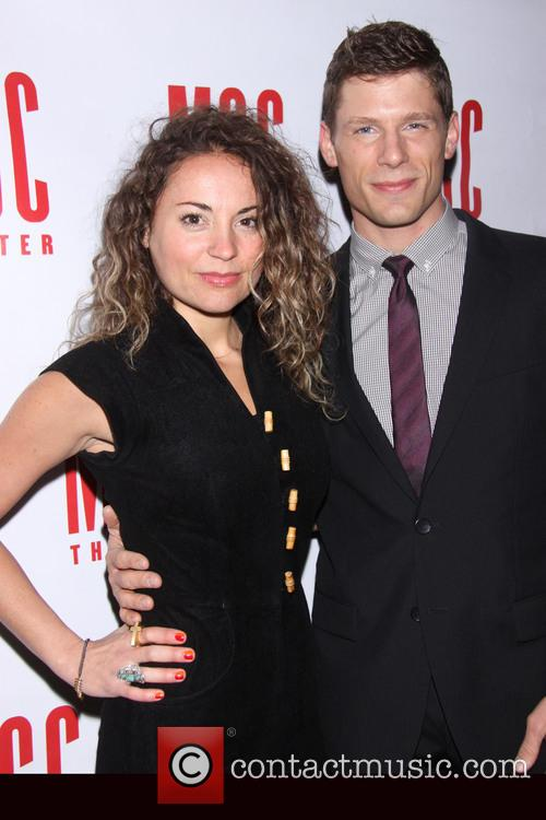 Michelle Armstrong and Matt Lauria 1