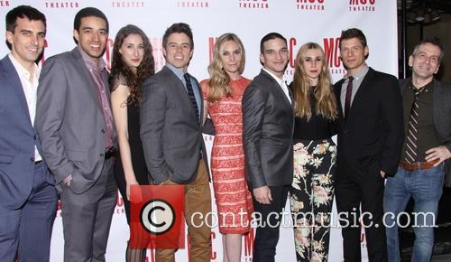 Paul Downs Colaizzo, Kobi Libii, Lauren Culpepper. David Hull, Aleque Reid, Evan Jonigkeit, Zosia Mamet, Matt Lauria and David Cromer 4