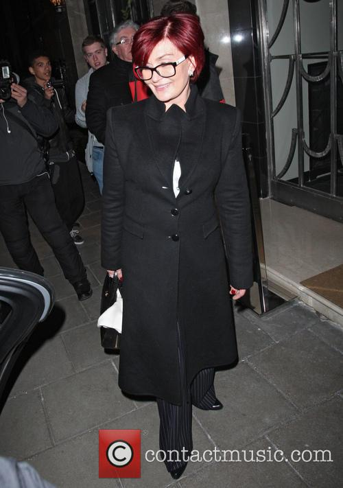 Sharon Osbourne At Claridge's
