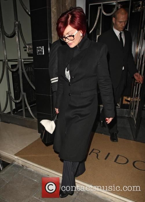 Sharon Osbourne At Claridge's