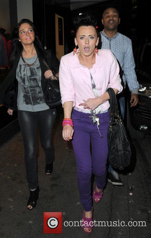 Tulisa Contostavlos, Aaron Evers and Michelle Mckenna. 2