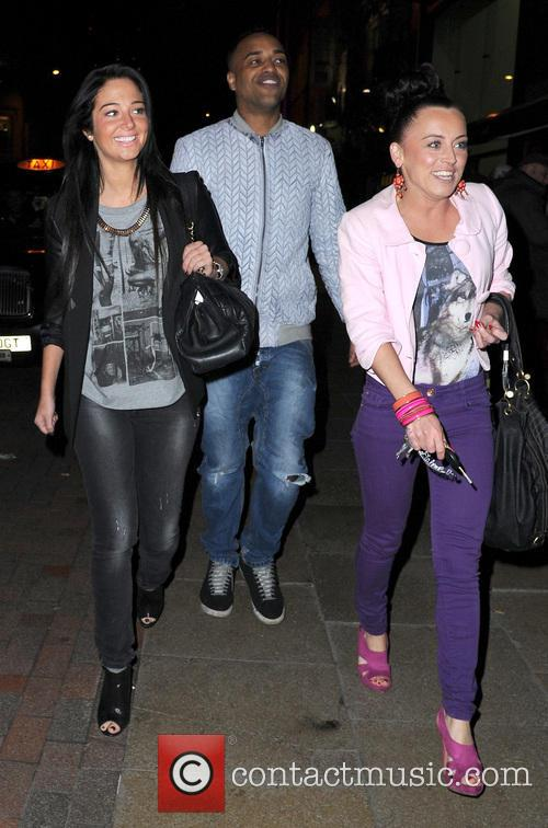 Tulisa Contostavlos, Aaron Evers and Michelle Mckenna. 8