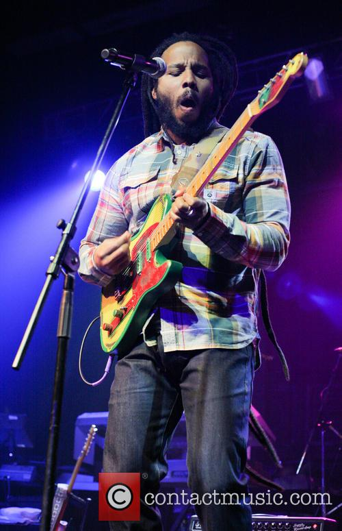 Ziggy Marley Performing Iin Concert