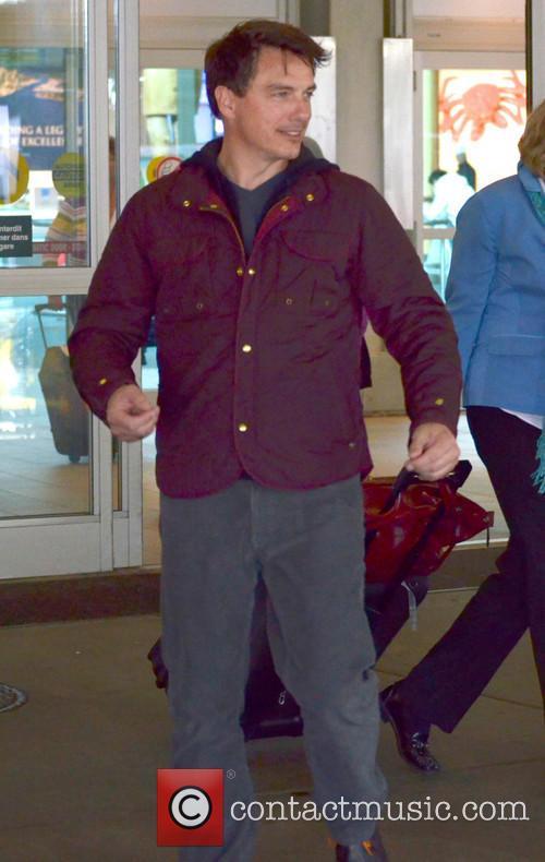 John Barrowman at Vancouver Airport