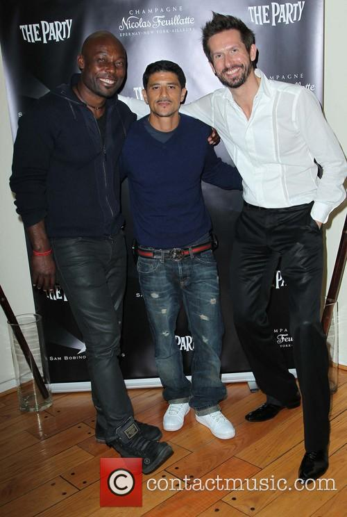 Jimmy Jean Louis, Said Taghmaoui and Sam Bobino