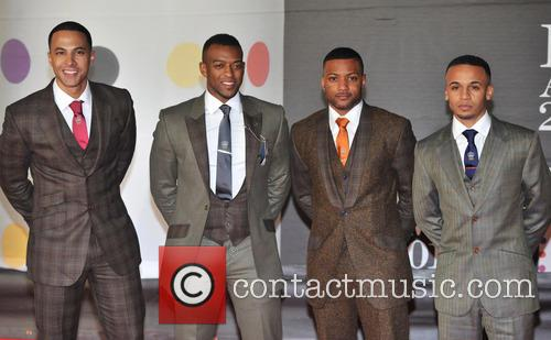 Marvin Humes, Oritse Williams, Jb Gill, Aston Merrygold and Jls 1