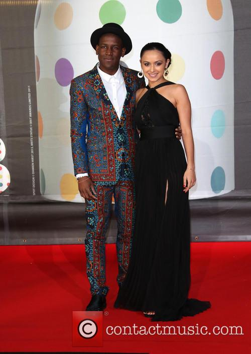 Labrinth and Girlfriend 1