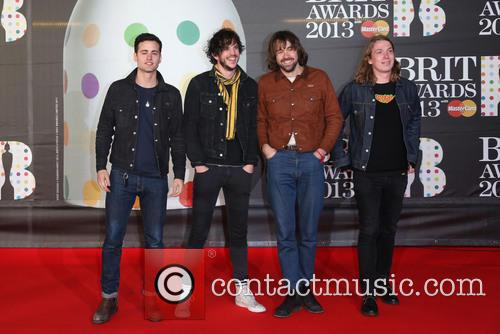 The Vaccines, Pete Robertson, Justin Young and Freddie Cowan 1