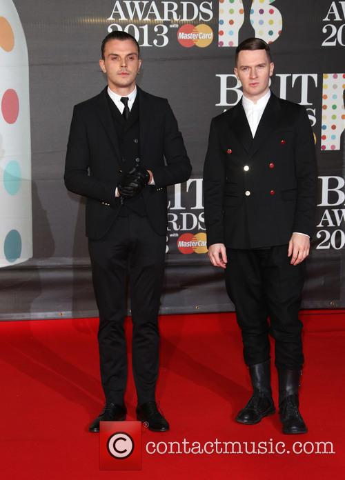 Theo Hutchcraft and Adam Anderson Of Hurts 10