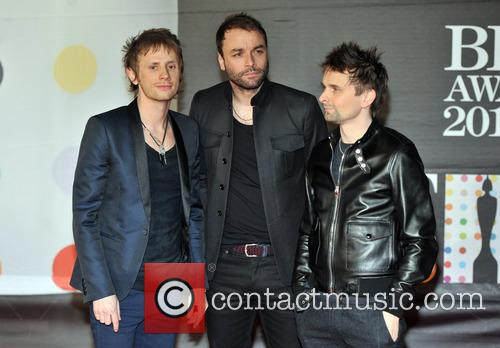 Dominic Howard, Matt Bellamy and Chris Wolstenholme 1