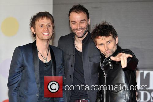 Dominic Howard, Matt Bellamy and Chris Wolstenholme 2