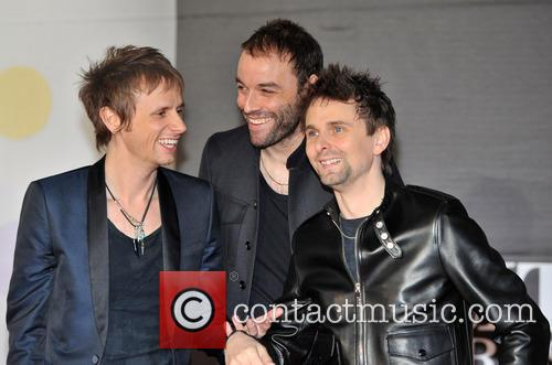 Dominic Howard, Matt Bellamy and Chris Wolstenholme 3