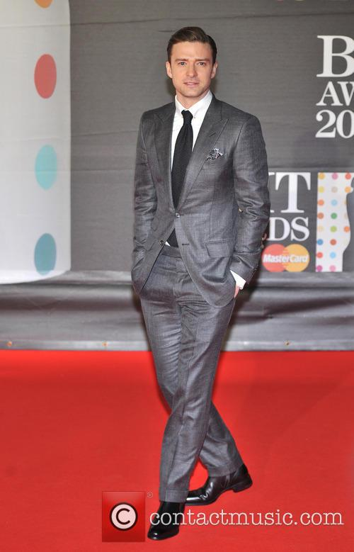 Justin Timberlake - The 2013 Brit Awards at Brit Awards - London, United Kingdom