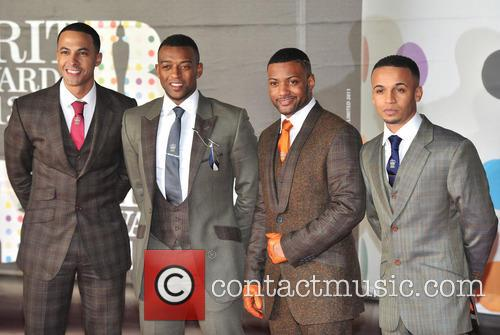 Marvin Humes, Oritse Williams, J.b. Gill and Aston Merrygold 3