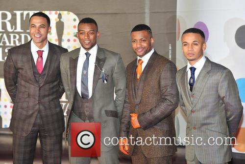 Marvin Humes, Oritse Williams, J.b. Gill and Aston Merrygold 4