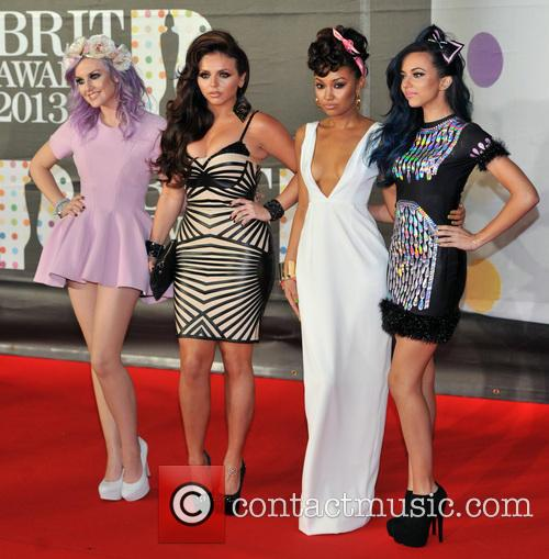 Perrie Edwards, Jesy Nelson, Leigh-anne Pinnock and Jade Thirlwall 7