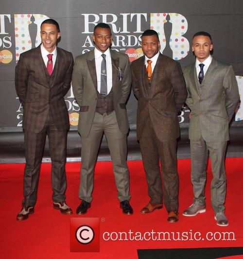 Marvin Humes, Oritse Williams, Jb Gill, Aston Merrygold and Jls 8