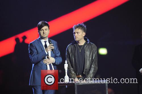 Ben Knowles and Damon Albarn 1