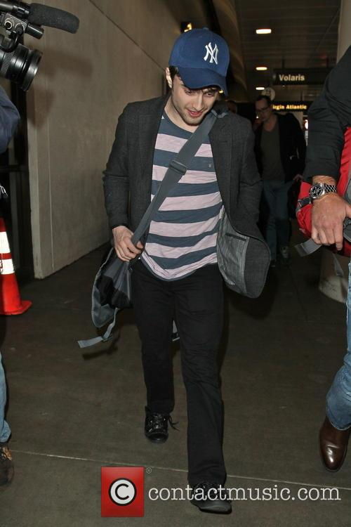 Daniel Radcliffe arrives at LAX airport