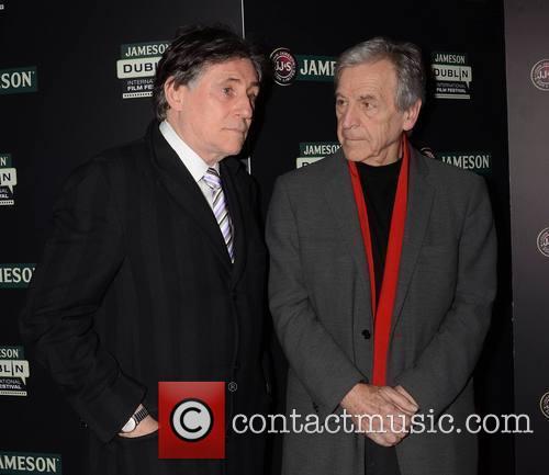 Gabriel Byrne and Costa Gavras 3