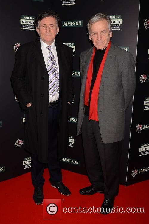 Gabriel Byrne and Costa Gavras 4