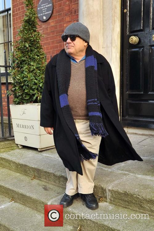 danny devito celebrities outside the merrion hotel 3515125