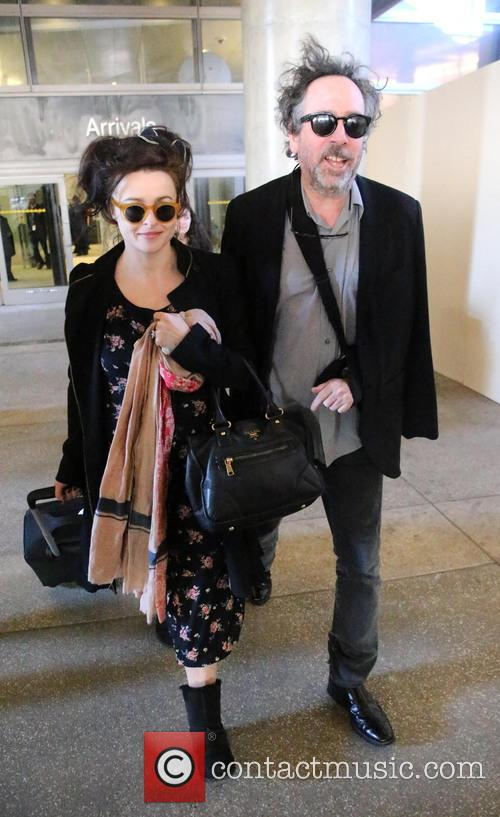 Tim Burton and Helena Bonham Carter 2