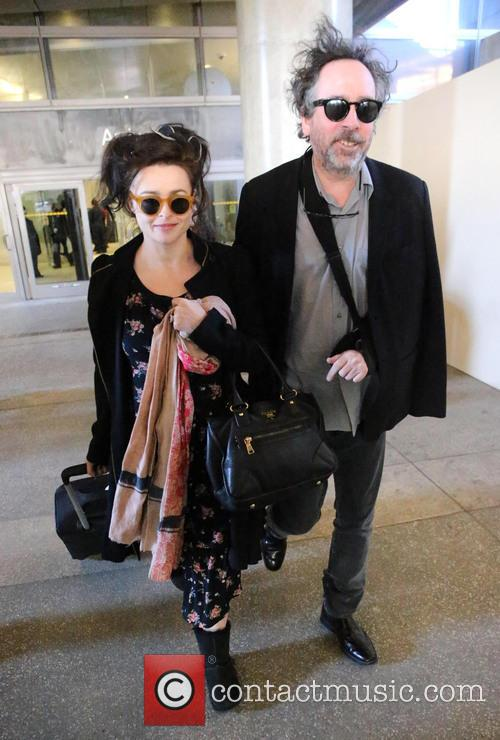 Tim Burton and Helena Bonham Carter 6