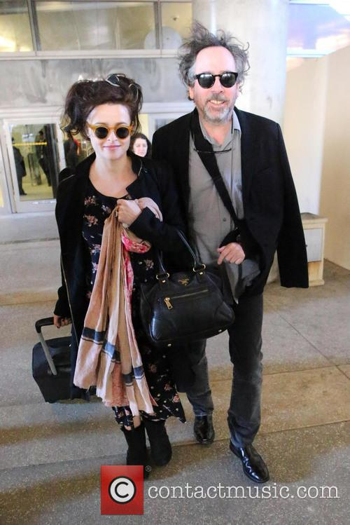 Tim Burton and Helena Bonham Carter 1