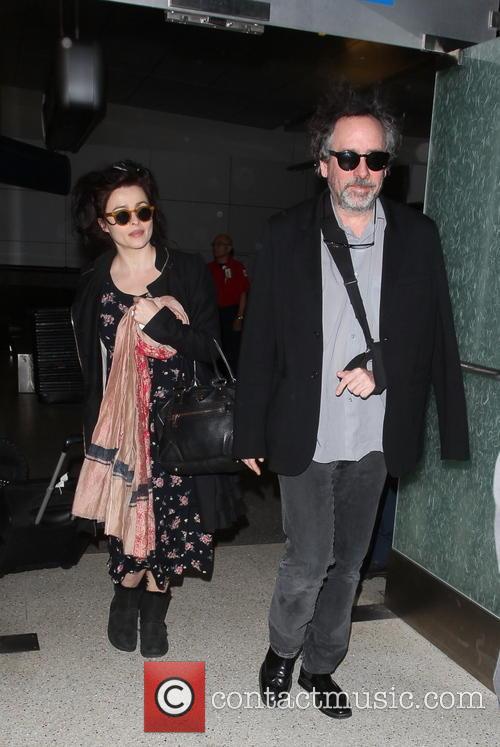 Tim Burton and Helena Bonham Carter 12