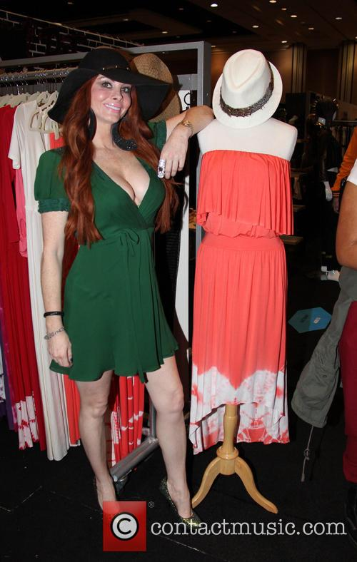 Phoebe Price attends Las Vegas fashion festival the...