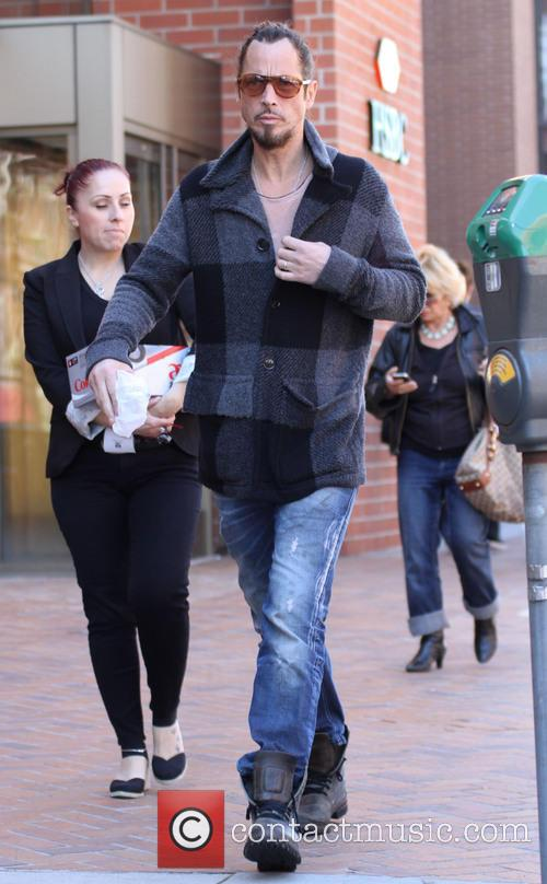Chris Cornell out and about