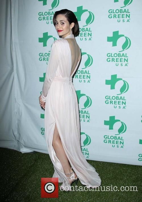 emmy rossum global green usas pre oscar party 3516738