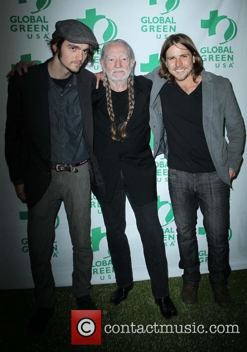 Jacob Micah Nelson, Willie Nelson and Lukas Nelson 2