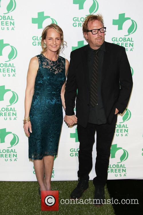 Helen Hunt and Matthew Carnahan snapped together in 2013