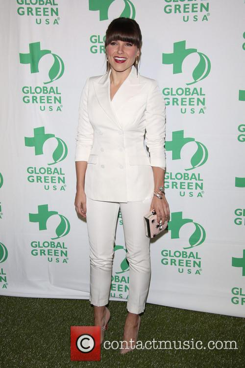 sophia bush global green usas pre oscar party 3517666