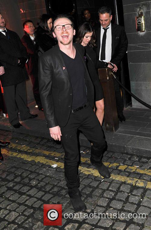 Simon Pegg, HAKKASAN, Brit Awards