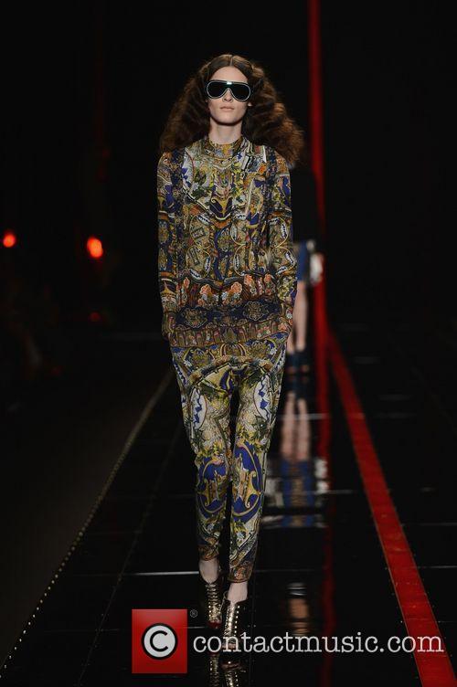 London Fashion Week - Autumn/Winter 2013 - Cavalli...
