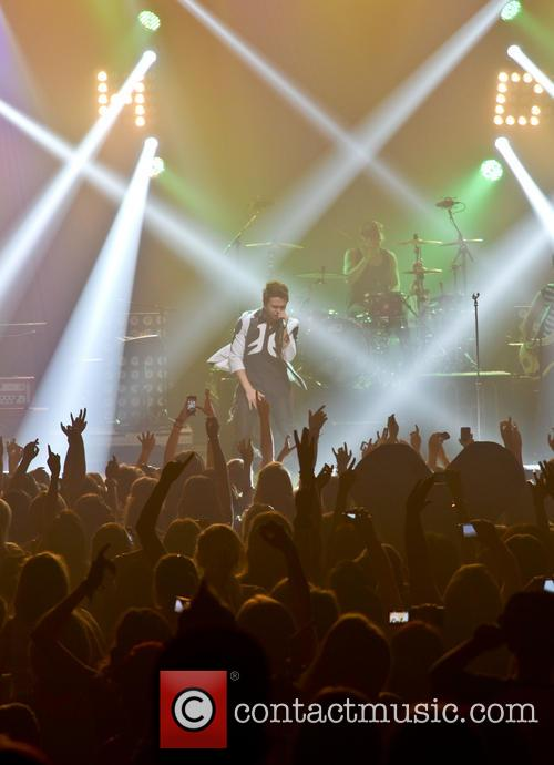 Reece Mastin Performing on his Beautiful Nightmare Tour