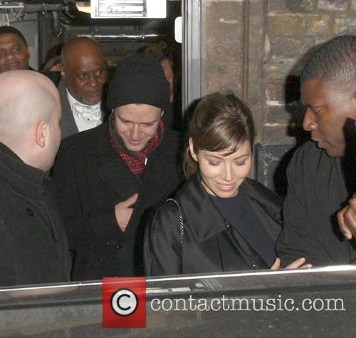 Justin Timberlake and Jessica Biel 3